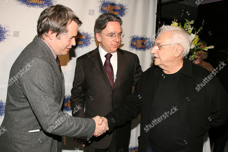 Matthew Broderick, James Houghton and Frank Gehry