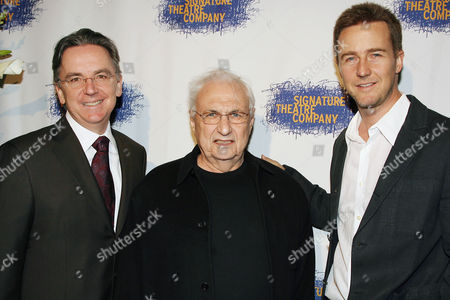 James Houghton, Frank Gehry and Edward Norton