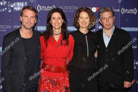 Ben Latham-Jones, Julie Taymor, Lynne Hendee and Elliot Goldenthal
