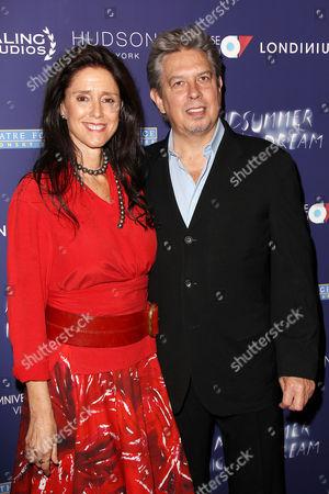 Julie Taymor (Director) and Elliot Goldenthal (husband)