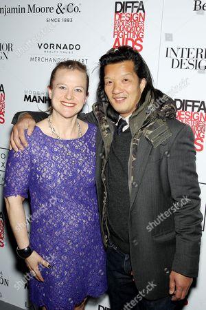 Johanna Osburn (Exec. Dir. DIFFA), West Chin