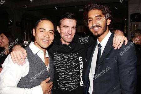 Jose Pablo Cantillo, Sharlto Copley and Dev Patel