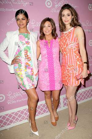 Editorial image of 'Lilly Pulitzer' Target Launch Party, New York, America - 15 Apr 2015