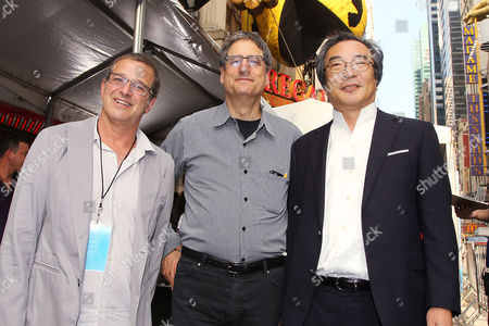 Allen Covert (Producer), Tom Rothman and Toru Iwatani