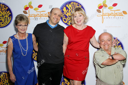 Denise Nickerson, Paris Themmen, Julie Cole and Rusty Goffe