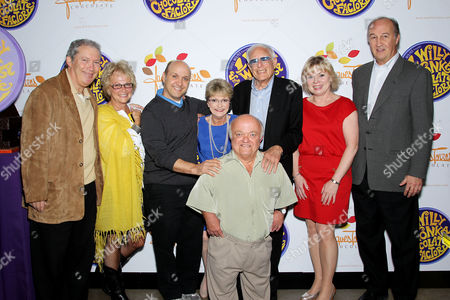 Jeff Baker, Ronnee Sass, Paris Themmen, Denise Nickerson, Rusty Goffe, Mel Stuart, Julie Cole and Tom Lucas