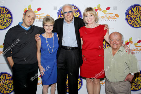 Paris Themmen, Denise Nickerson, Mel Stuart, Julie Cole and Rusty Goffe