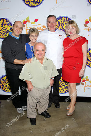 Stock Image of Paris Themmen, Denise Nickerson, Rusty Goffe, Jacques Torres and Julie Cole