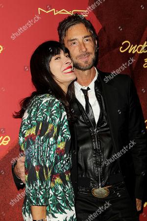 Athena Calderone and Jean Marc Houmard