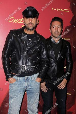 Brian Wolk and Claude Morais