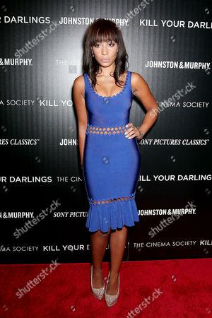 Editorial photo of 'Kill Your Darlings' film screening at the Cinema Society, New York, America - 30 Sep 2013