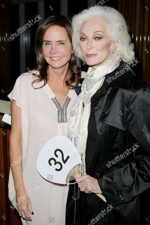 Katie Ford and Carmen Dell'Orefice