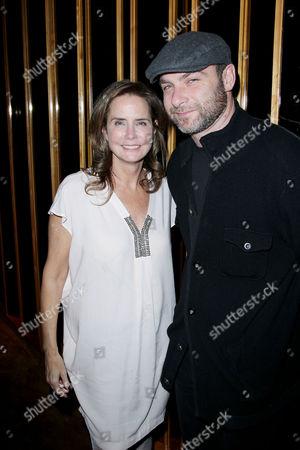 Katie Ford and Liev Schreiber
