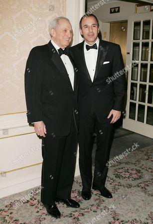 Matt Lauer and Henry S. Schleiff