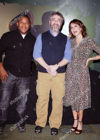 Kyle Massey, Warren Spector (Creator of Disney Epic Mickey) and Jennifer Grey