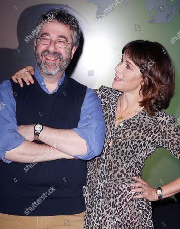 Warren Spector (Creator of Disney Epic Mickey) and Jennifer Grey