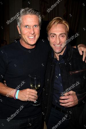 Stock Image of Donnie Deutsch and Oscar Blandi