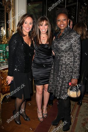 Rosanna Scotto, Melissa Rivers and Robin Quivers