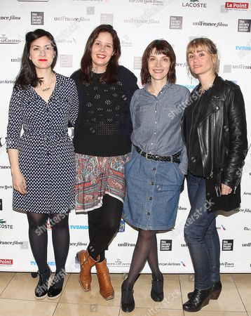 Rebecca Zlotowski, Justine Triet, Axelle Ropert and Katell Quillevere