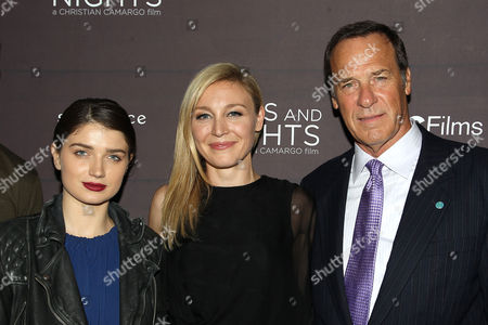 Stock Image of Eve Hewson, Juliet Rylance and Grainger Hines
