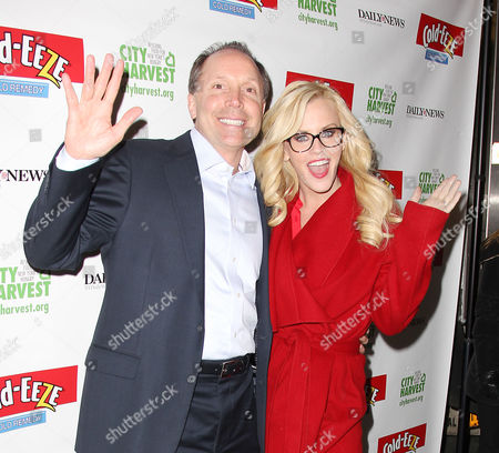 Stock Picture of Ted Karkus (CEO; ProPhase) and Jenny McCarthy