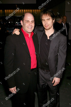 Writer and Executive Producer Matt Weiner and Sam Rockwell