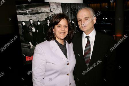 Executive Producer Ilene Landress with Executive Producer and creator David Chase