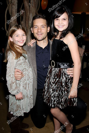 Taylor Geare, Tobey Maguire, Bailee Madison