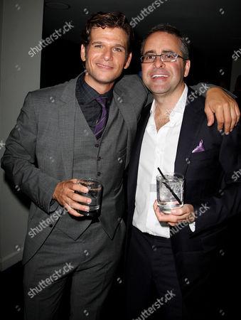 Stock Image of Mark Kassen and Paul Danziger