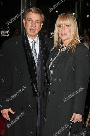 Marv Albert with wife Heather Faulkiner