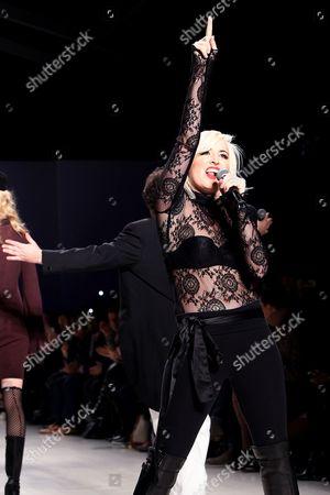 Editorial image of Mark and Estel show, Autumn Winter 2015, Mercedes-Benz Fashion Week, New York, America - 13 Feb 2015