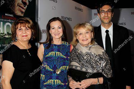 Guest, Judith Nathan Giuliani, Barbara Walters and Ramin Bahrani