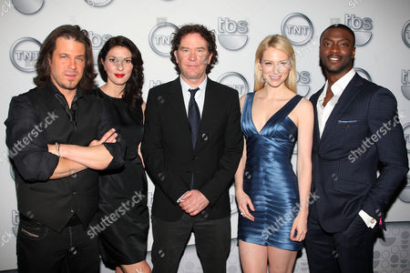 Cast of Leverage (Christian Kane, Gina Bellman, Timothy Hutton,