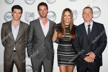 Drew Roy, Noah Wyle, Moon Bloodgood and Will Patton
