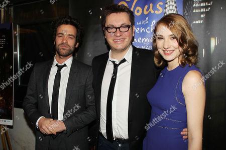 Stock Picture of Romain Duris, Regis Roinsard and Deborah Francois