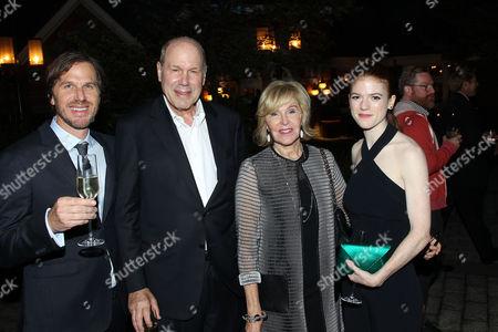Breck Eisner (Director), Michael Eisner, Jane Eisner, Rose Leslie