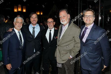 Rob Friedman (Lionsgate Co-Chairman), Breck Eisner (Director), Mark Canton (Producer), Taylor Hackford, Geoff Shaevitz (Pres. Production Lionsgate)
