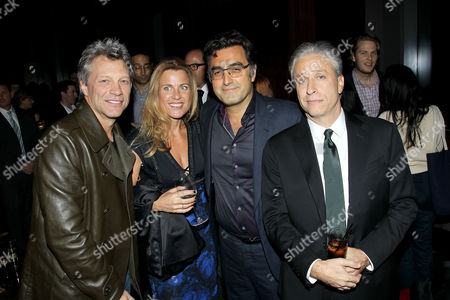 Stock Image of Jon Bon Jovi, Paola Bahari, Maziar Bahari, Jon Stewart (Dir./Writer/Producer)
