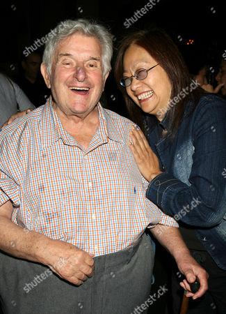 Sid Bernstein and May Pang