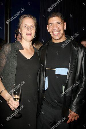 Stock Photo of Maddy deLone and Dewey Bozella (exoneree)