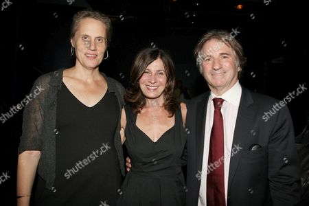 Maddy deLone, Pamela Gray and Barry Scheck