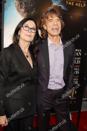 Victoria Pearman and Mick Jagger
