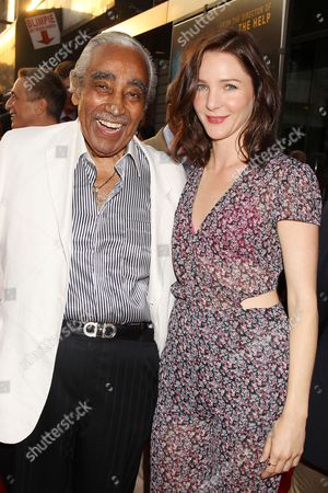 Charlie Rangel and Jessica Collins