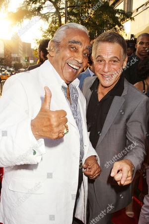 Charlie Rangel and Tony Danza
