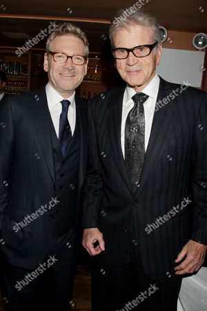 Kenneth Branagh and Don Murray