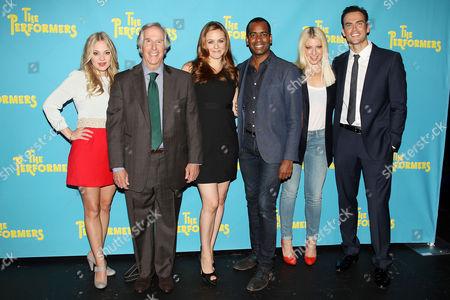 Jenni Barber, Henry Winkler, Alicia Silverstone, Daniel Breaker, Ari Graynor and Cheyenne Jackson