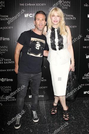 Scott Lipps and Courtney Love
