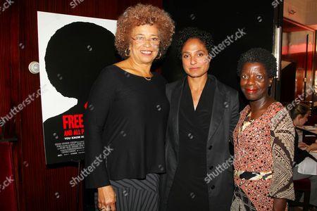 Angela Davis, Shola Lynch (Director) and Thelma Golden