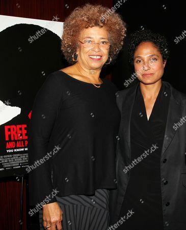 Angela Davis and Shola Lynch (Director)
