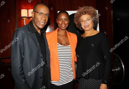 Patrick Riley, Sidra Smith (Producer) and Angela Davis